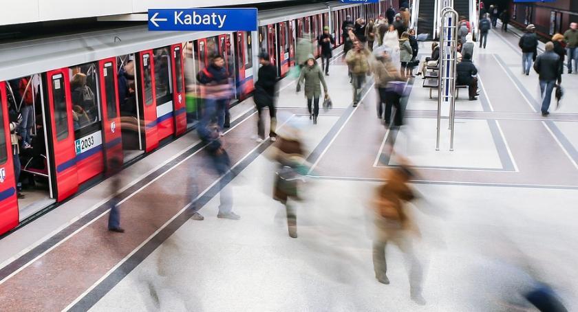Poważna awaria w metrze: nie kursowały pociągi między Kabatami a Wilanowską