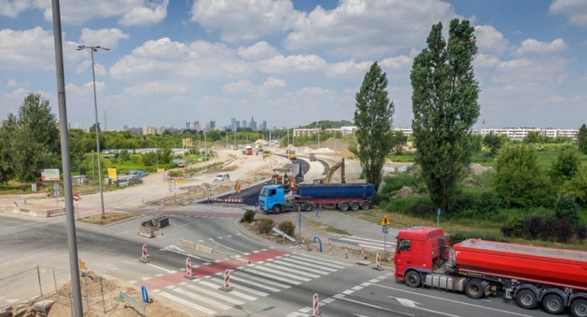 W weekend (od 17 do 19 sierpnia) zostanie zamknięta droga dla rowerów na Czerniakowskiej bis