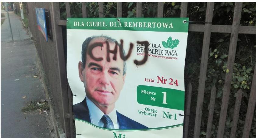 Samorząd, przykładzie Rembertowa kampania sięgnęła Obrażać można zupełnie bezkarnie! - zdjęcie, fotografia
