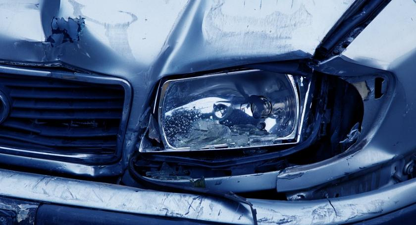 Bezpieczeństwo, Śmiertelny wypadek drodze kierunku Mokotowa - zdjęcie, fotografia