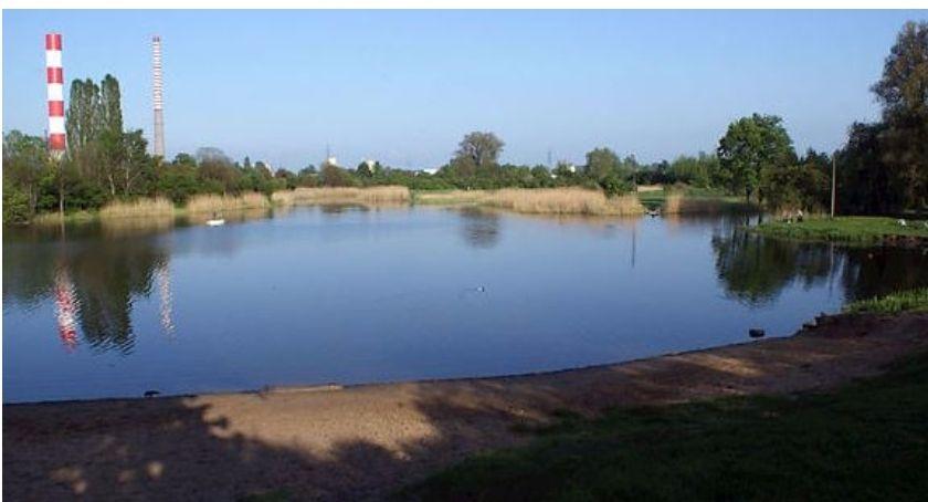 Problemy, Jeziorko Czerniakowskie zakazem kąpieli - zdjęcie, fotografia