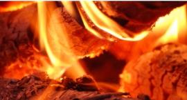 Pożar w magazynie przyległym do Galerii Mokotów: jedna osoba poparzona