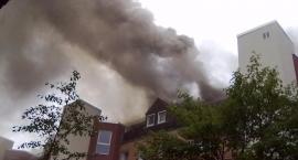 Znaleziono zwłoki kobiety w spalonym mieszkaniu przy ul. Bernardyńskiej