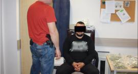 29-letni diler narkotyków, Daniel K., wpadł przed własnym domem na Mokotowie