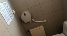 Firmowa toaleta w jednym z biurowców Mordoru na Domaniewskiej: nie trać czasu na…