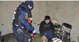 Na działkach przy Czerniakowskiej Straż Miejska znalazła ciało nieżyjącego bezdomnego