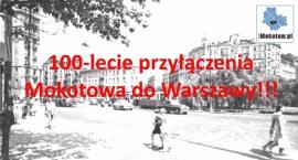 Stulecie przyłączenia Mokotowa do Warszawy