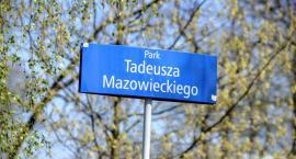 Park między Jazdowem i Myśliwiecką otrzymał imię Tadeusza Mazowieckiego