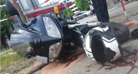 Śmierć 30-letniego motocyklisty na rogu Wołoskiej i Dąbrowskiego w zderzeniu z jeepem