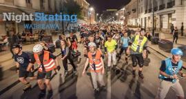 Uwaga na rolkarzy w sobotę 14 lipca 2018 po godz. 21: NightSkating pojedzie na Mokotów i Ursynów