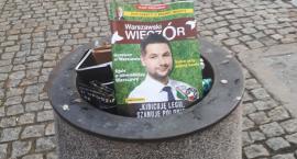 Były wiceprezydent Warszawy o problemie śmieci na Mokotowie. A Patryk Jaki milczy...