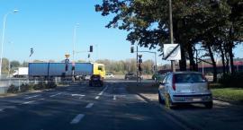 Zjeżdżał z Mostu Śląsko-Dąbrowskiego w kierunku Mokotowa i… się rozmyślił?