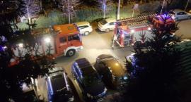 Straż pożarna w szkole podstawowej przy ul. Bacha, ale po godzinach lekcyjnych…