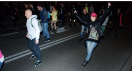 Night Skating Warszawa otwarcie sezonu