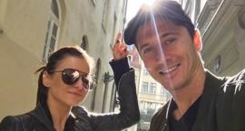 Robert i Anna Lewandowscy w Warszawie – na spacerze i w domu
