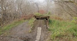 Ścieżka rowerowa na Kopcu Powstańców Warszawskich ZAORANA! Buta stołecznych urzędników