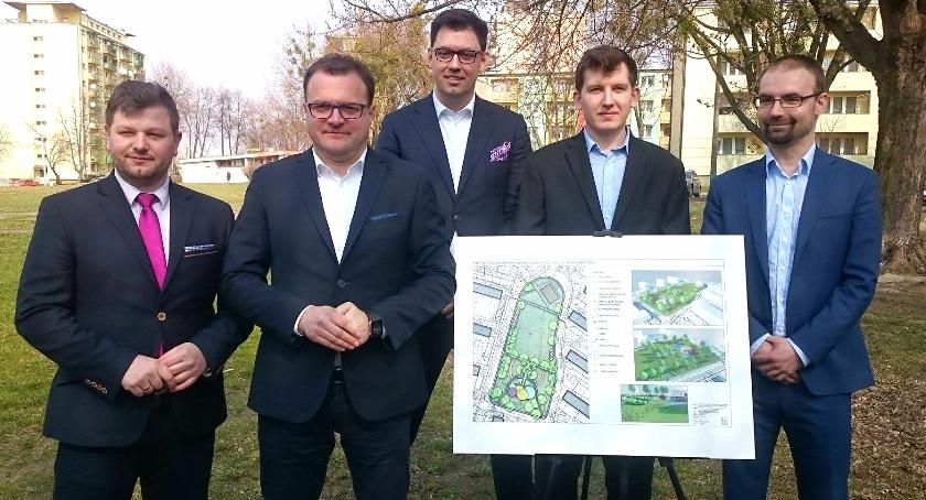 Inwestycje, Osiedle lecie Więcej zieleni miejsc parkingowych zamiast bloku - zdjęcie, fotografia