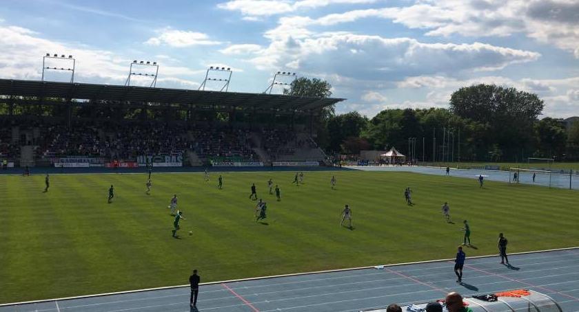 Piłka Nożna, Radomiak Legionovia Radomiak barażach ligę - zdjęcie, fotografia
