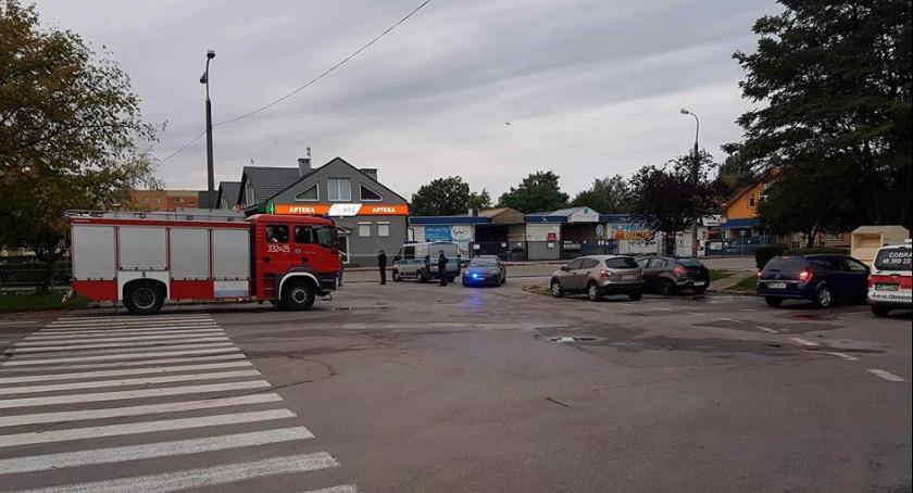 Kronika kryminalna, Osiedle Michałów Nieznani sprawcy próbowali wysadzić bankomat! - zdjęcie, fotografia