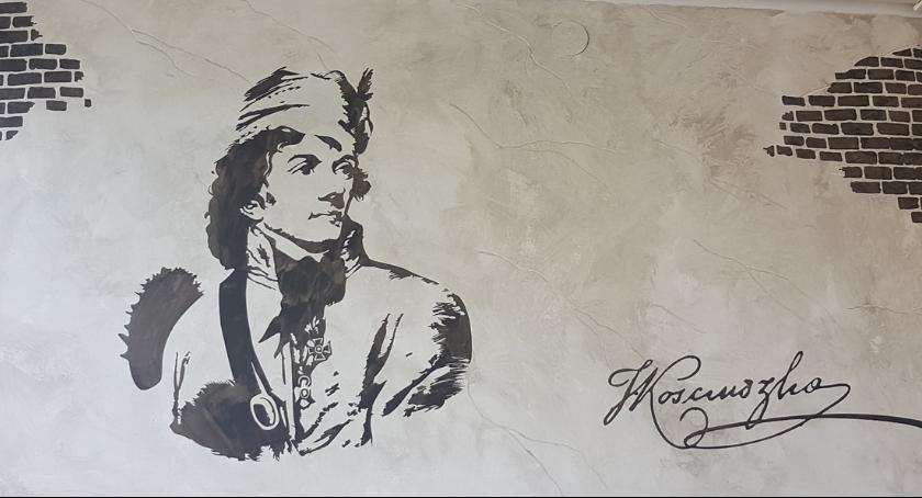 Informacje z Radomia i okolic , Radomiu nagrodzone mural Tadeusza Kościuszki - zdjęcie, fotografia