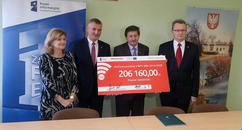 Powiat Radomski, Fundusze unijne bezpieczeństwo powiecie zwoleńskim - zdjęcie, fotografia