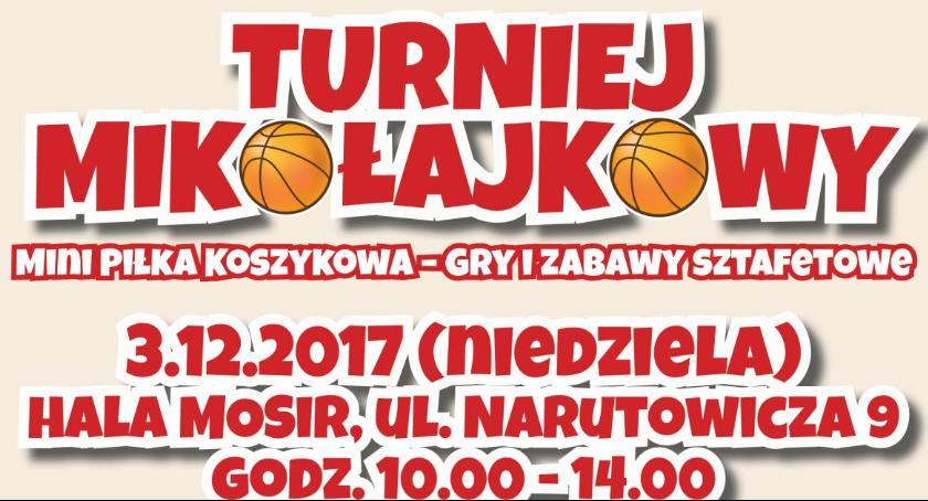 Koszykówka, Koszykarski Turniej Mikołajkowy - zdjęcie, fotografia