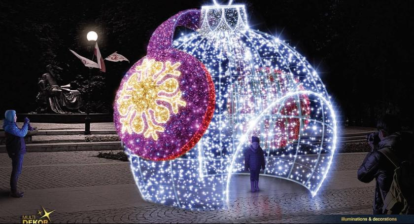 Informacje z Radomia i okolic , weekend rozbłyśnie świąteczna iluminacja Radomia - zdjęcie, fotografia