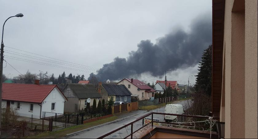 Wypadki, Pożar Radomiu! [FOTO] - zdjęcie, fotografia