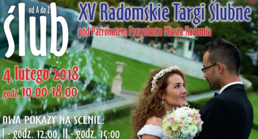 Inne, Radomskie Targi Ślubne najbliższą niedzielę - zdjęcie, fotografia