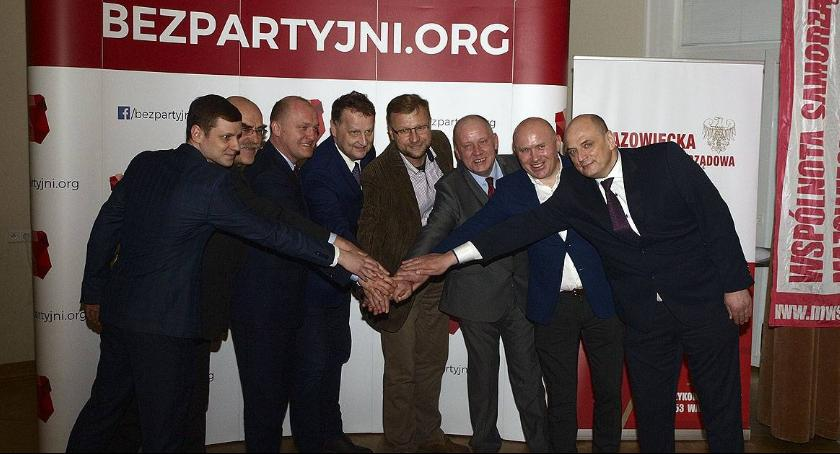 Polityka, Mazowiecka Wspólnota Samorządowa reprezentantem Ogólnopolskiego Ruchu Bezpartyjnych [FOTO] - zdjęcie, fotografia