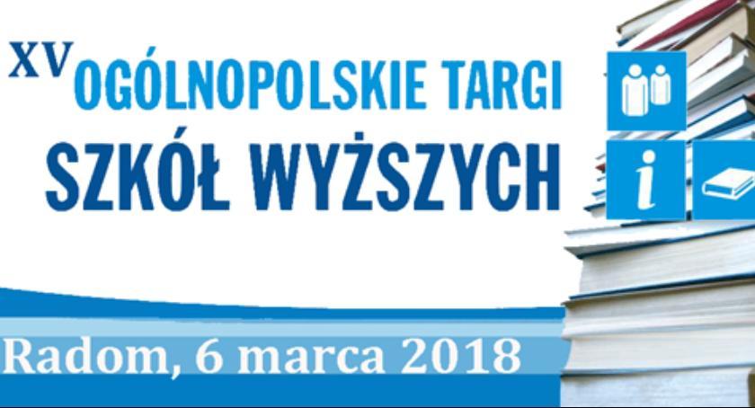 Wydarzenia, Ogólnopolskie Targi Szkół Wyższych - zdjęcie, fotografia