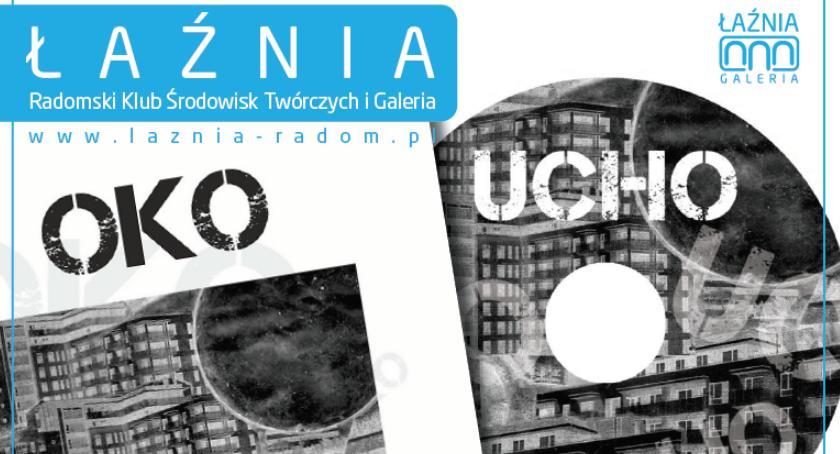 """Inne, """"Oko"""" """"Ucho"""" Promocja antologii audiobooka - zdjęcie, fotografia"""