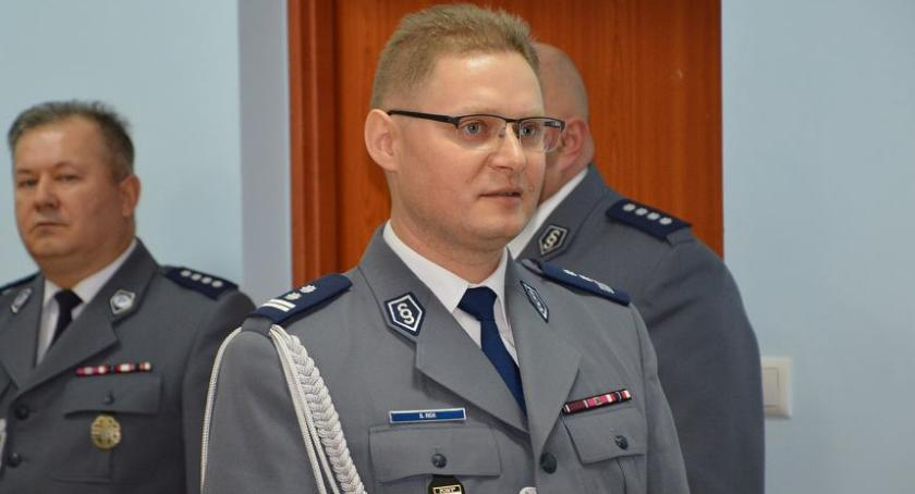 Wywiad, Rozmowa Sławomirem Rekiem nowym Komendantem Miejskim Policji Radomiu - zdjęcie, fotografia