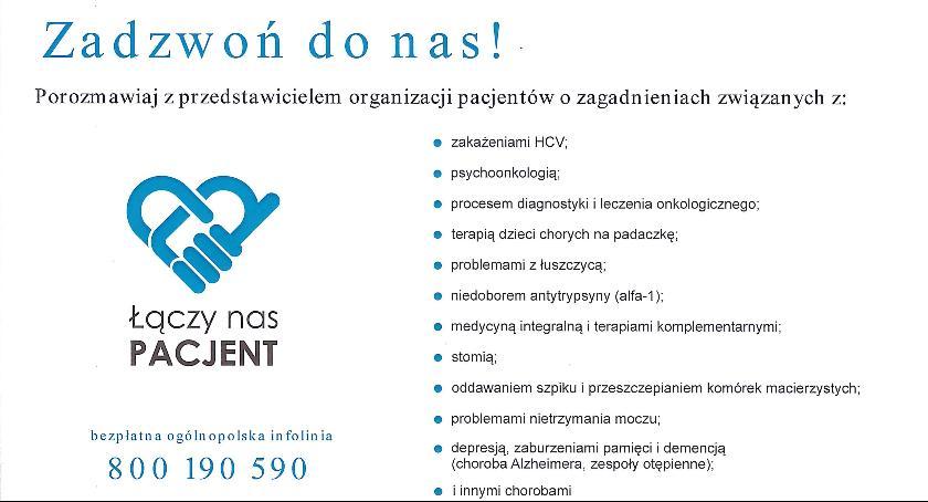 Służba zdrowia, Bezpłatna infolinia pacjentów - zdjęcie, fotografia
