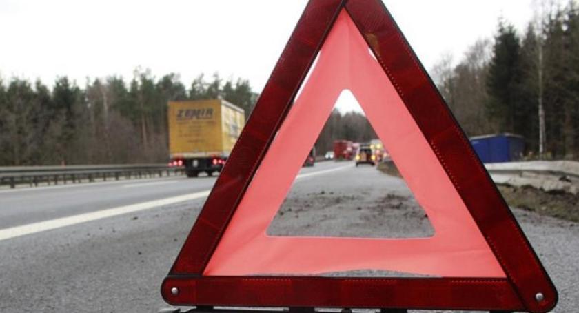 Wypadki, Jedlińsk Śmiertelny wypadek drodze krajowej - zdjęcie, fotografia