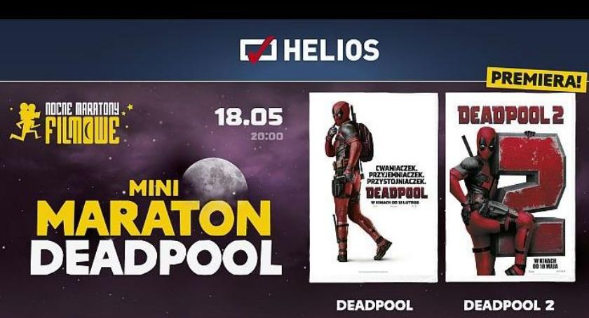 Kino, Maraton Deadpoola kinie Helios Wygraj wejściówkę! [KONKURS] - zdjęcie, fotografia
