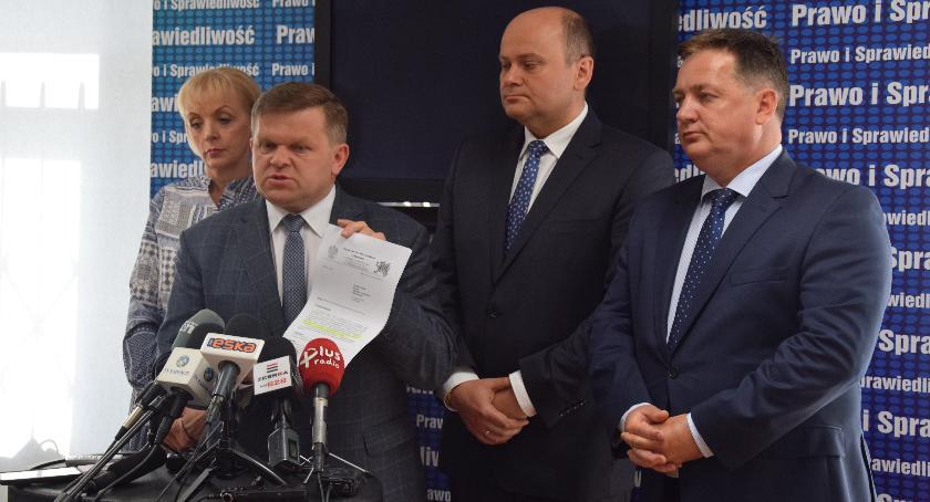 Ważne, Poseł Skurkiewicz raportu Oczekuję prokuratura zdecyduje wszczęciu śledztwa - zdjęcie, fotografia