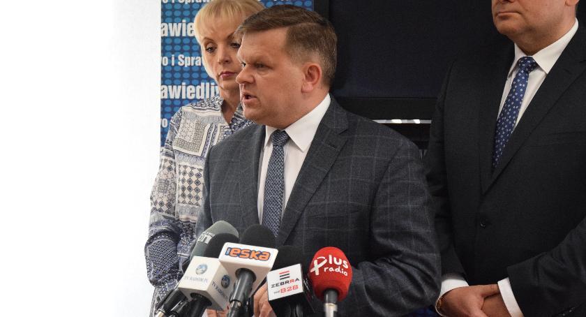 Ważne, radomskich struktur Wojciech Skurkiewicz kandydata prezydenta - zdjęcie, fotografia