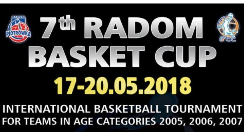Koszykówka, Basket Radom - zdjęcie, fotografia