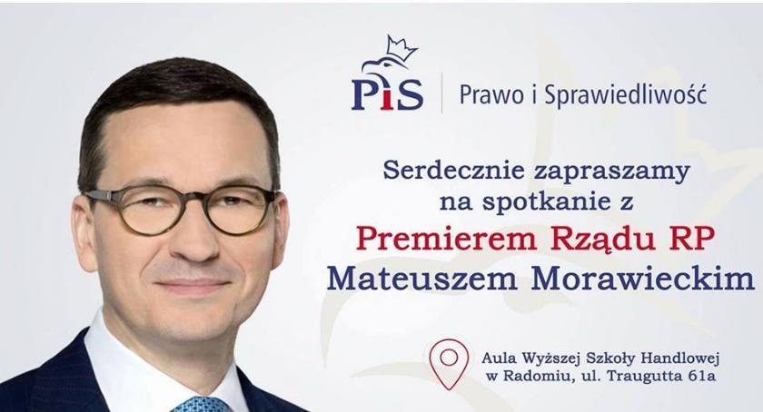 Wydarzenia, Premier Mateusz Morawiecki odwiedzi Radom - zdjęcie, fotografia