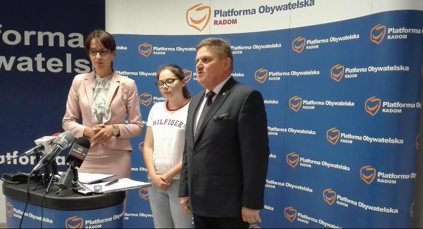 Ważne, Platforma Obywatelska przeciw przenoszeniu Wydziału Gospodarczego radomskiego sądu Lublina - zdjęcie, fotografia