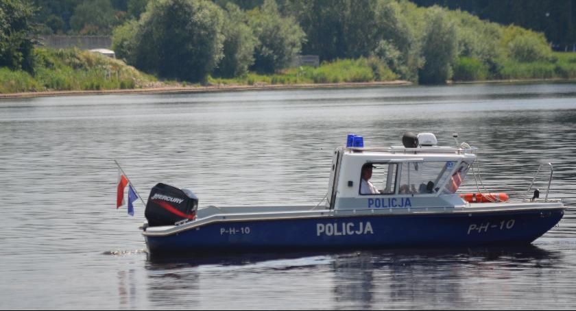 Powiat Radomski, Wodny posterunek policji Domaniowie - zdjęcie, fotografia