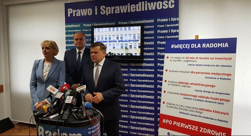"""Ważne, Wojciech Skurkiewicz przedstawił propozycje """"uzdrowienie"""" radomskiej służby zdrowia [FOTO] - zdjęcie, fotografia"""