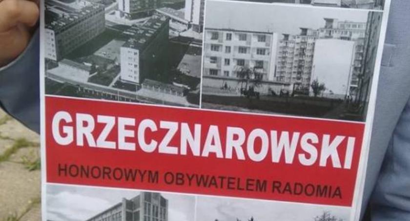 Ważne, Radni zadecydowali Józef Grzecznarowski został honorowym obywatelem Radomia - zdjęcie, fotografia