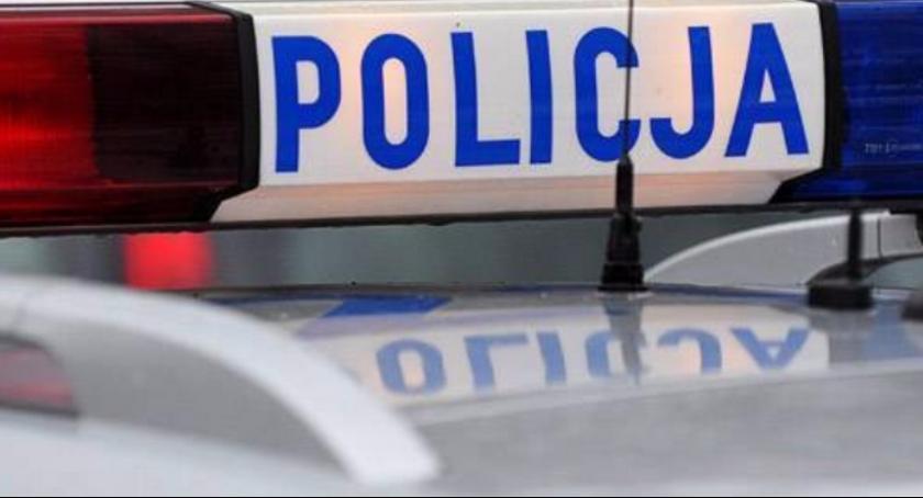 Kronika kryminalna, Poszukiwany mężczyzna chciał ukraść alkohol - zdjęcie, fotografia