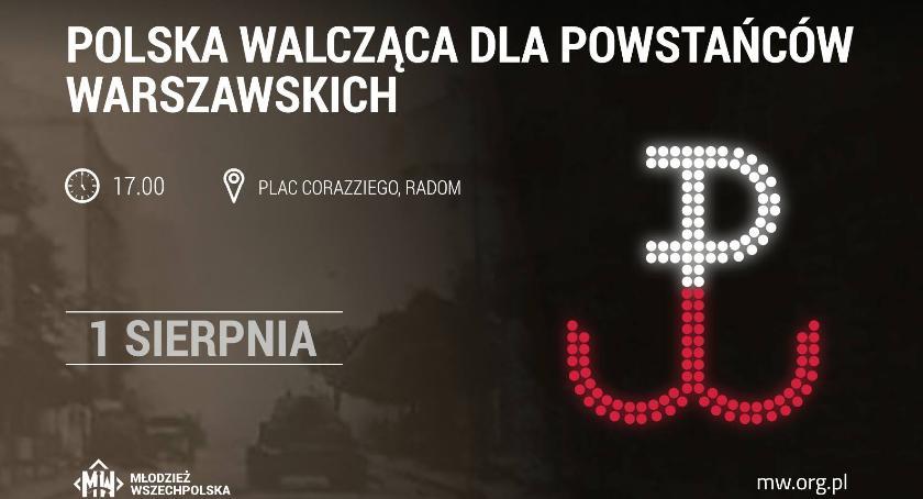 Inne, Radom Polska Walcząca Powstańców Warszawskich - zdjęcie, fotografia