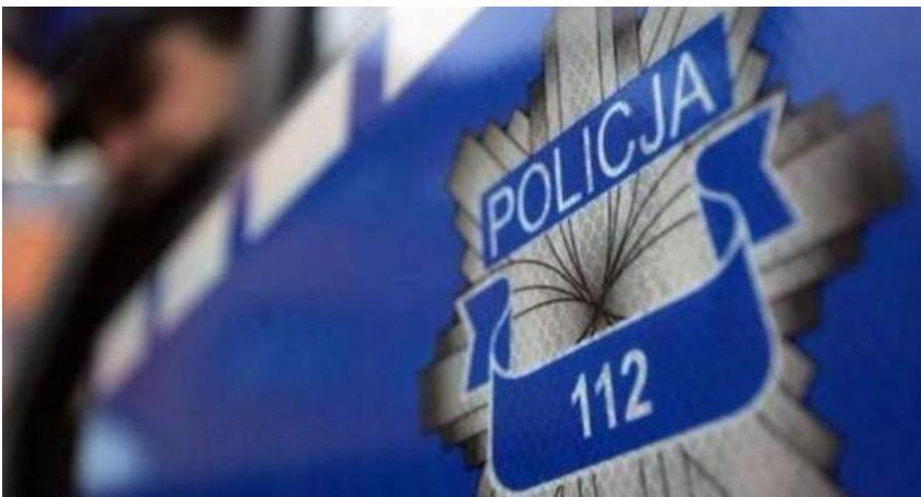 Kronika kryminalna, Policyjny dozór kradzież rozbójniczą - zdjęcie, fotografia