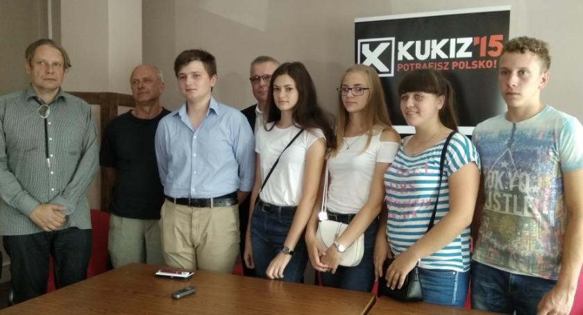 Kresy, Grupa młodych Polaków Sąsiadowic Ukrainie wizytą naszym mieście [FOTO] - zdjęcie, fotografia