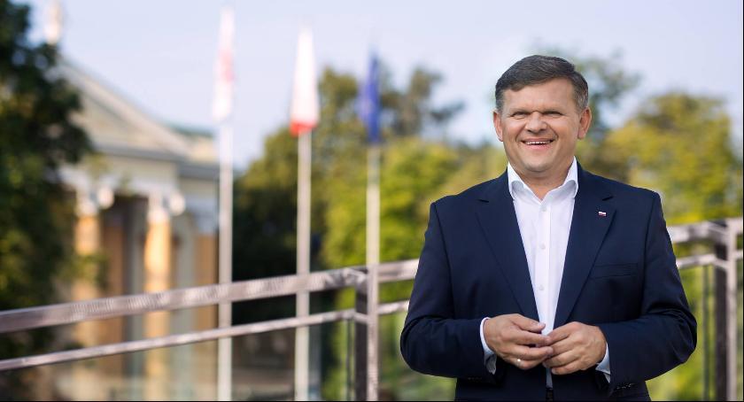 Wydarzenia, Spotkanie kandydatem Prezydenta Radomia Wojciechem Skurkiewiczem - zdjęcie, fotografia