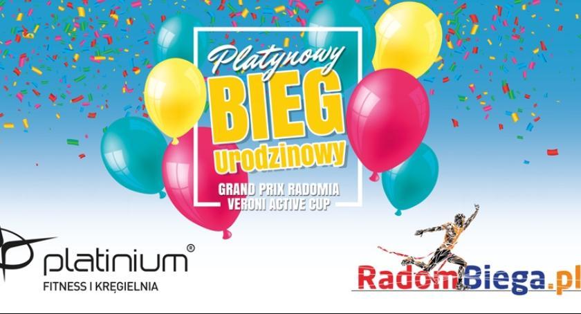 Sport - Inne, Platynowy Urodzinowy Biegowego Grand Radomia Veroni Active - zdjęcie, fotografia